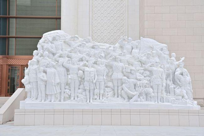 独家揭秘!中国共产党历史展览馆五组艺术雕塑的细节和寓意!