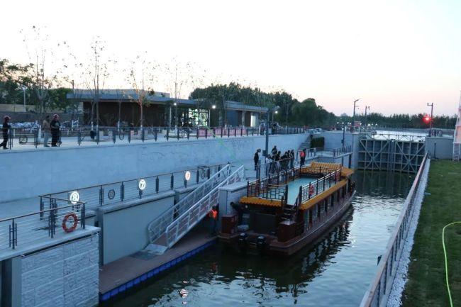 你见过北京最大的船闸吗?