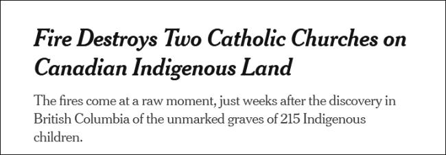 加拿大发现原住民儿童无名坟墓 迄今为止数量最多