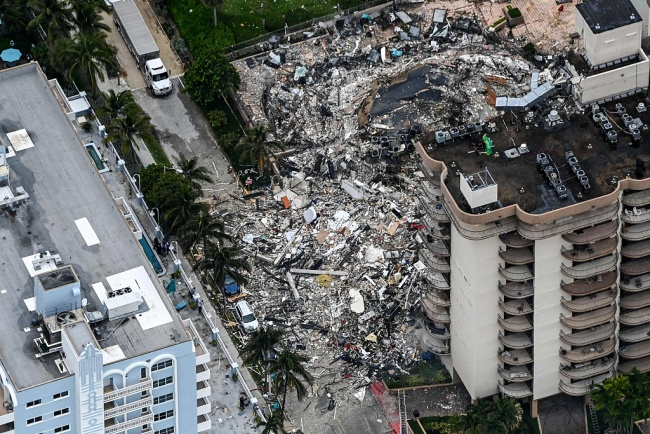 美研究报告披露:倒塌公寓数十年一直在下沉