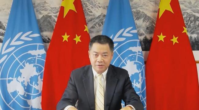 中国代表指出美国等西方国家种族灭绝罪行