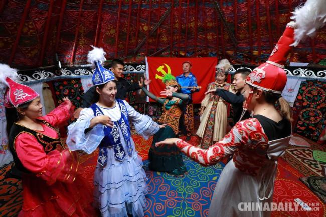 全国各地庆祝中国共产党成立100周年