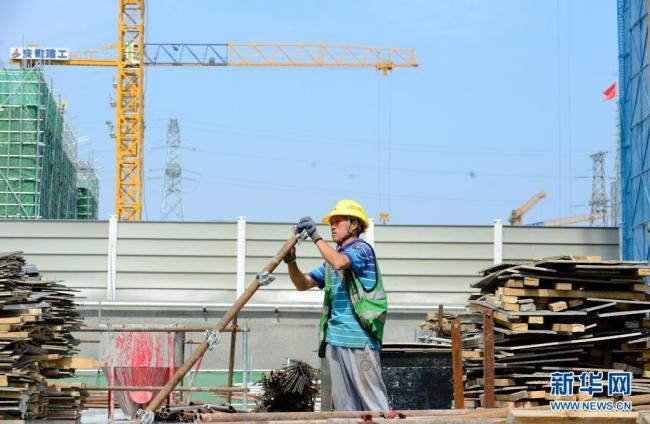 河北雄安新区容西片区建设有序推进