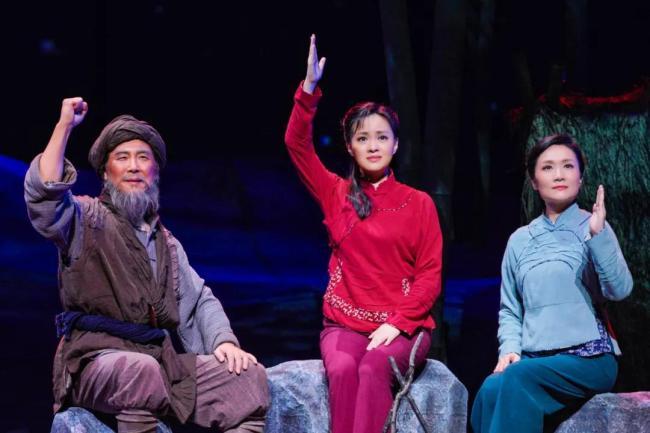 国家大剧院版经典民族歌剧《党的女儿》在京亮相