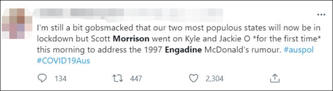 曾在麦当劳拉裤子?澳大利亚总理回应