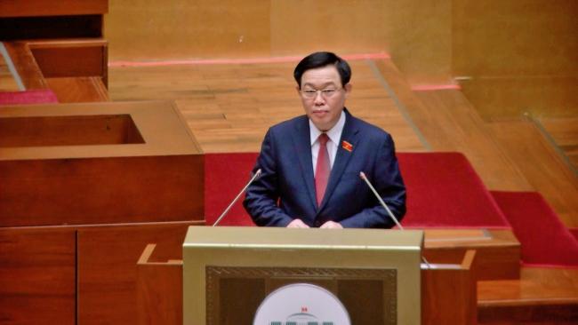 △越南国会主席王庭惠
