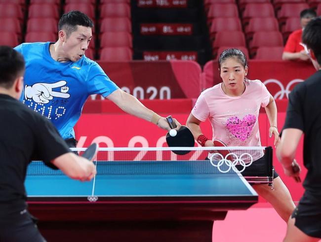 积极、渴望、稳节奏——直击国乒奥运首训