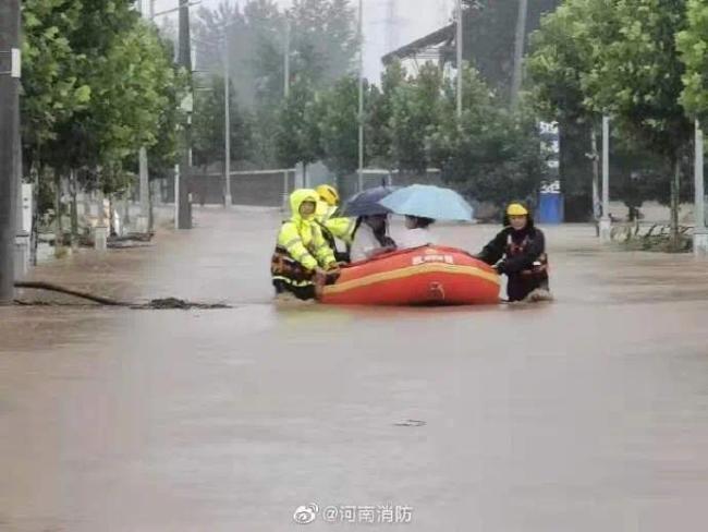 速扩!河南遭遇极端强降雨,全省救援电话汇总