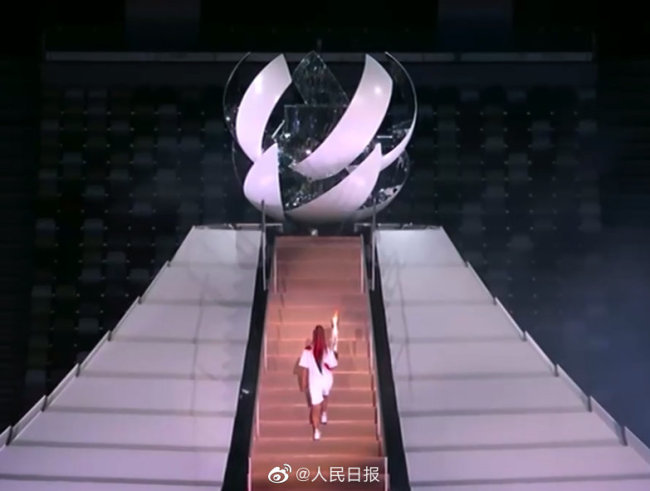 东京奥运圣火点燃了 期待中国奥运军团再创辉煌!