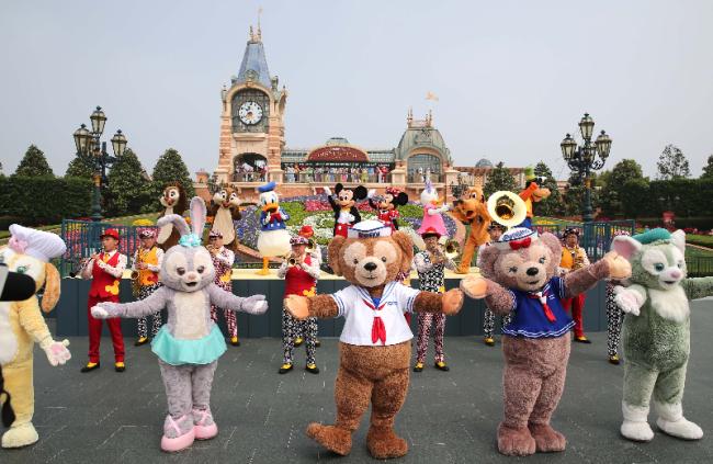 上海迪士尼乐园将于明日恢复运营