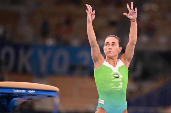 丘索维金娜结束东京之役 八战奥运已成传奇