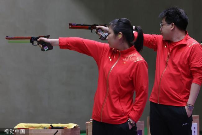 东京奥运会|中国队再入三金