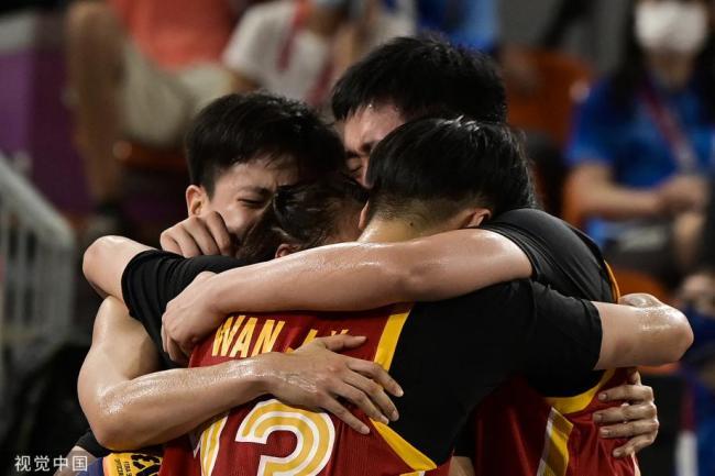 [图]东京奥运会三人篮球女子铜牌赛:中国16-14法国