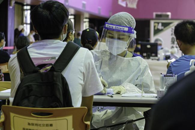 台湾新增18例本土新冠病例