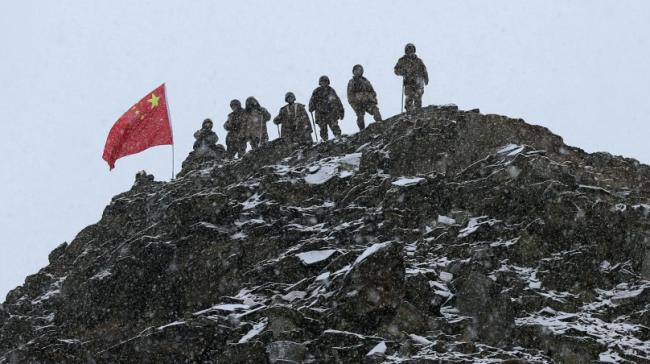 这,就是中国军人的模样!