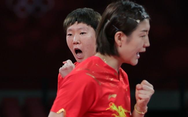 女乒团体半决赛中国3比0晋级 决赛再遇老对手日本