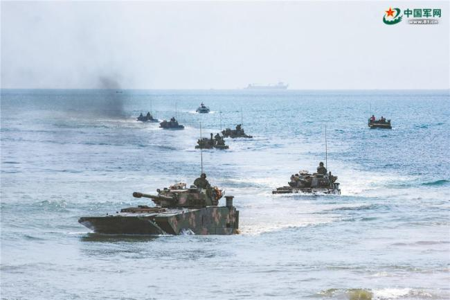 这场海上训练逼近实战!