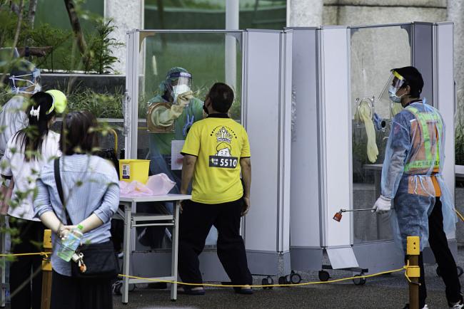 台湾新增20例本土新冠病例