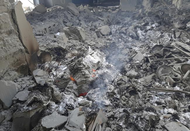 美军疑出动B-52空袭塔利班半夜炸毁阿富汗一所学校