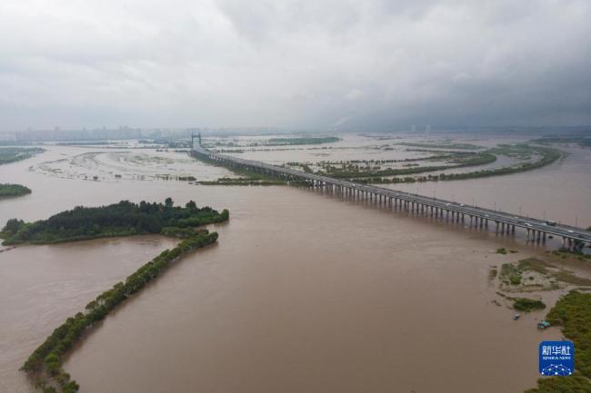 松花江干流发生2021年第1号洪水