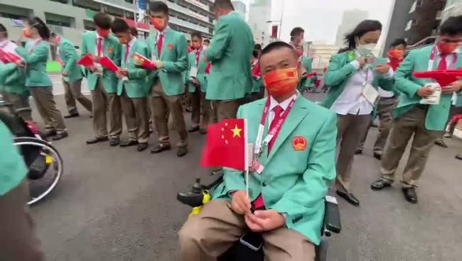 东京残奥会今晚开幕,中国代表团第98个出场