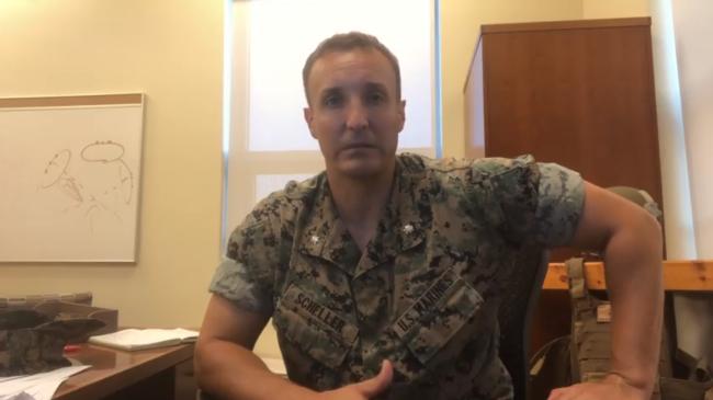"""美海军陆战队军官要求""""问责""""高层,结果被解雇"""