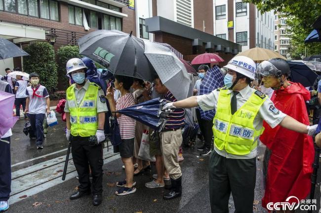 防御台风灿都 上海中小学停课