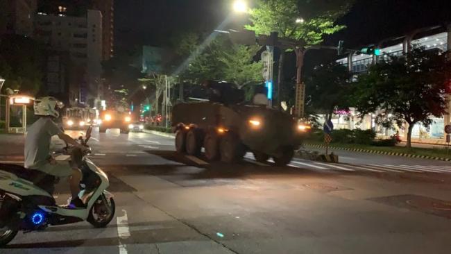 """汉光军演首日:台军进行""""战力保存""""战术演习"""