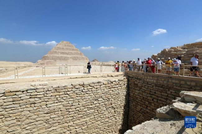 古埃及第三王朝时期一古墓向公众开放