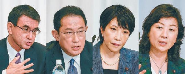 日本自民党总裁竞选开启 谁能成为菅义伟接班人