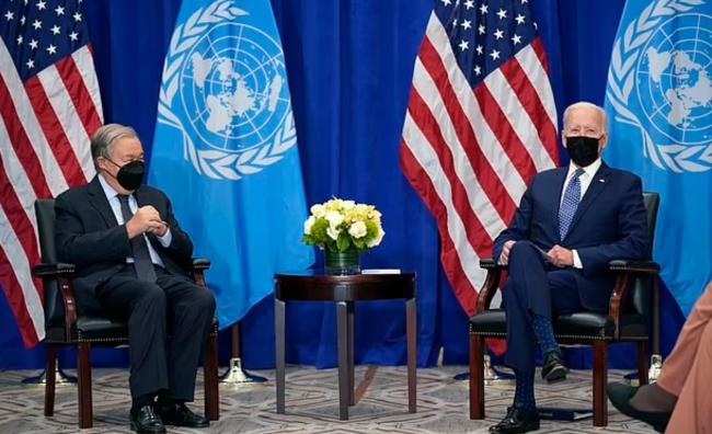 拜登联合国首秀前放话:美国回来了