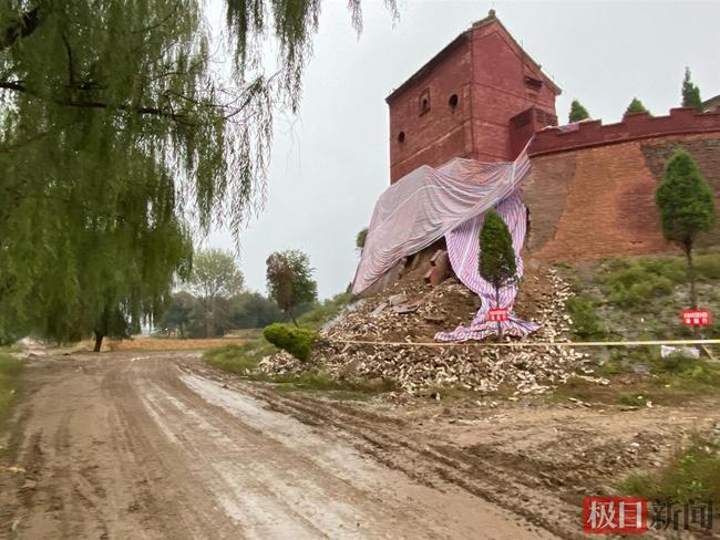平遥古城局部坍塌、太原晋祠多处漏水 暴雨致山西1763处古建受损