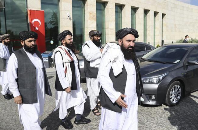 阿富汗塔利班外交代表团访问土耳其