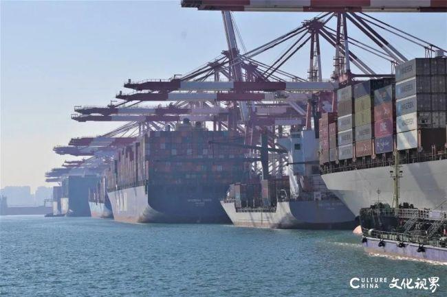 夺高产 创高效——山东港口集团面向新征程,开启了红红火火的2021
