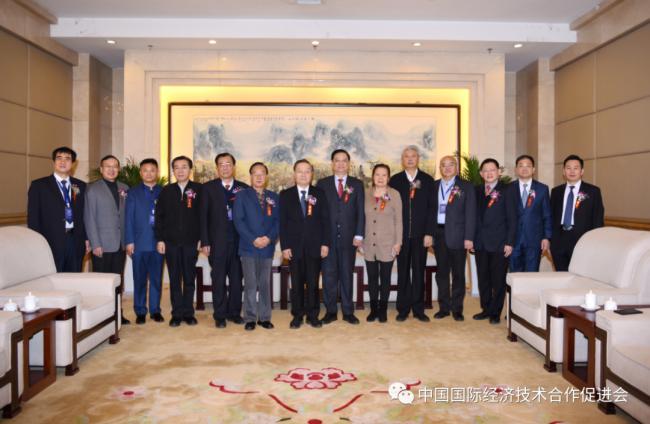 """中国国际经济技术合作促进会""""2021新年专家新型智库强国论坛""""在京成功举办"""