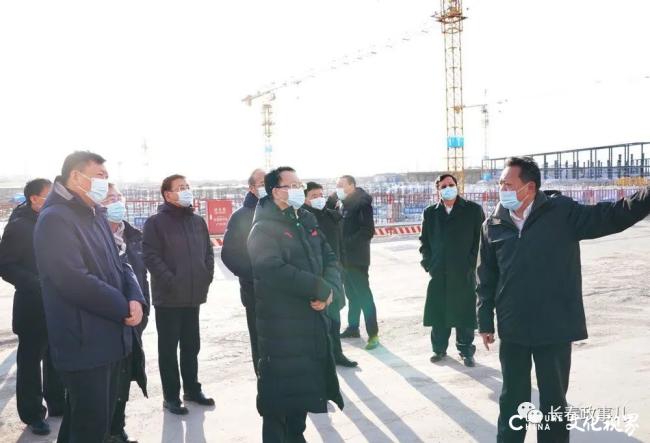 吉林省委书记景俊海到玲珑轮胎项目调研,并对项目建设速度给予充分肯定