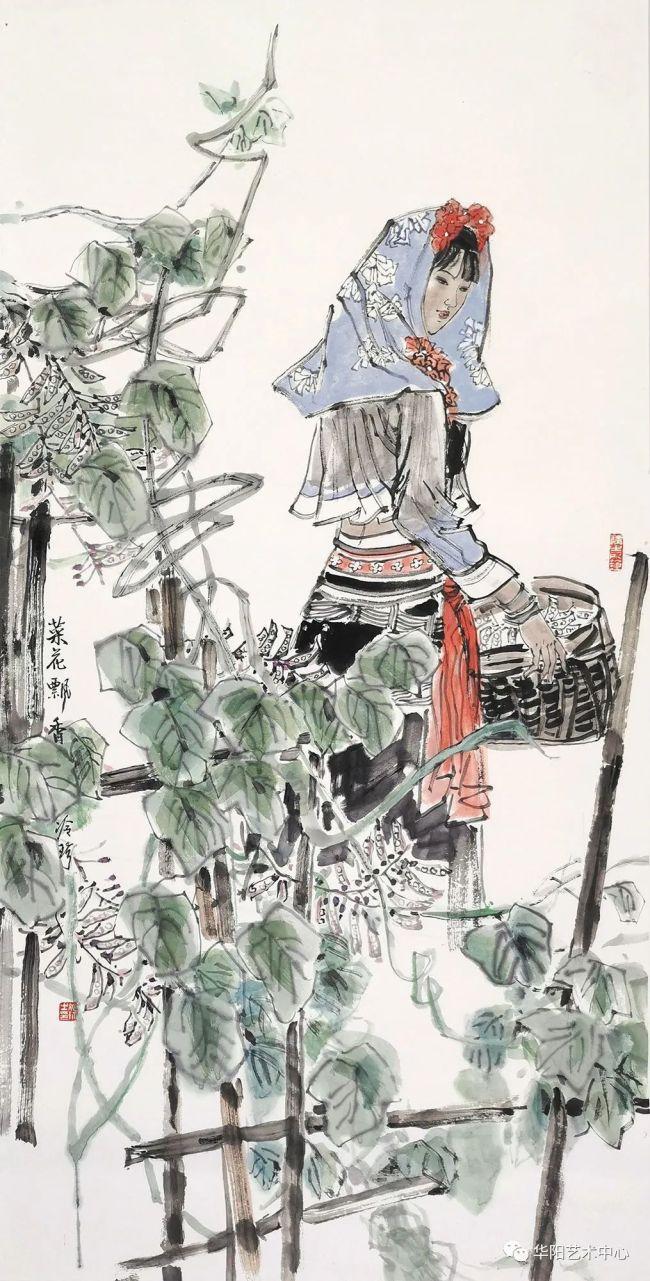 """泉城济南即将迎来""""舞东风——当代中国画名家迎春作品七人展"""",著名画家冷珍应邀献上墨与色的视觉盛宴"""