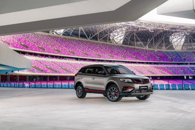 """""""三好SUV""""又添新成员,吉利博越亚运版上市仅售9.18-10.88万元"""