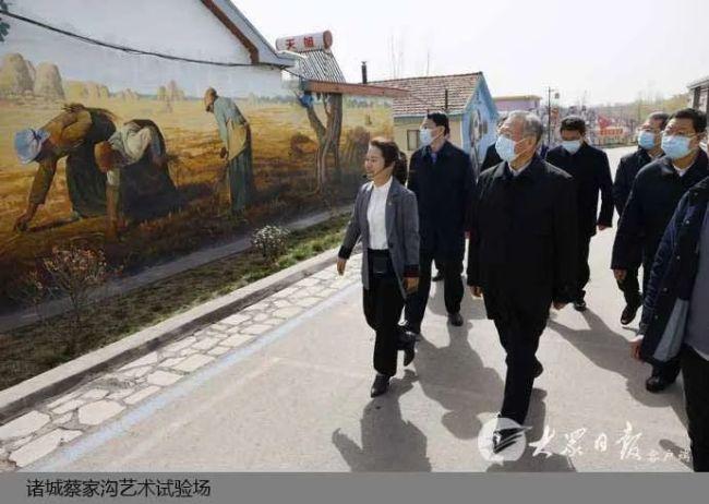 山东省委书记刘家义到潍坊青岛调研