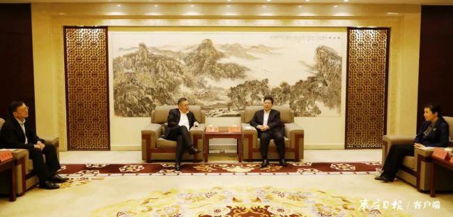 陈平会见工行山东省分行党委书记、行长赵桂德,将推动双方在更高起点实现合作共赢