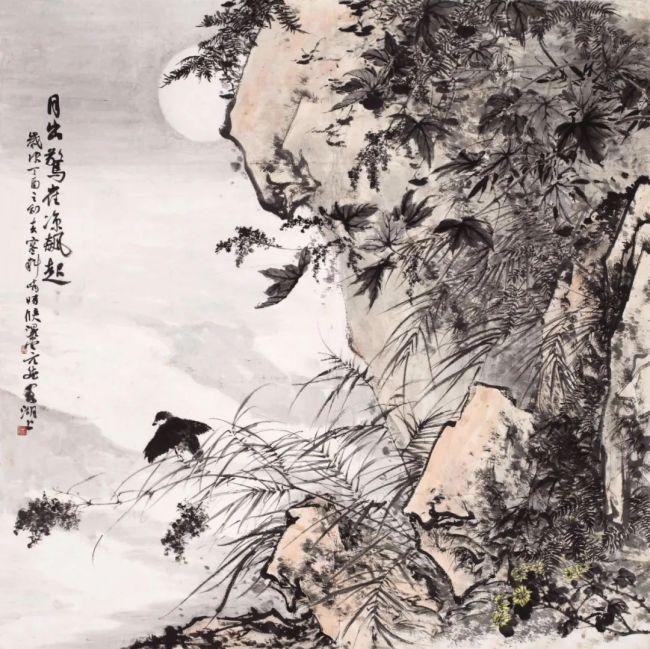 其野芃芃 生机盎然——青年画家韩斌兼容南北的笔墨艺术新突破
