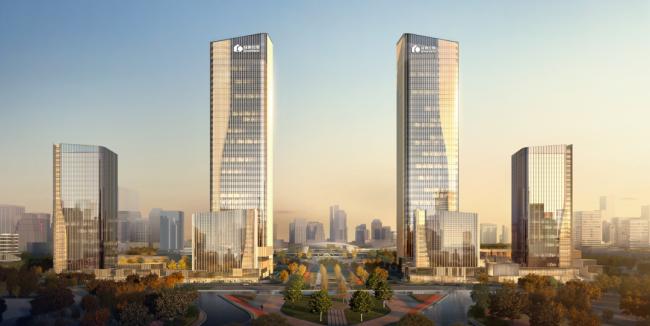 """绿地·临沂城际空间站开建一周年,已然""""城""""长为高铁新区新封面"""