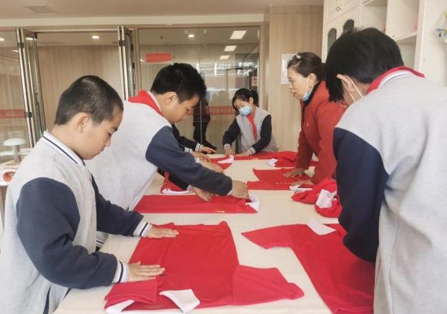 用项目式校本课程引领劳动教育,济南高新区劝学里小学和汉峪小学引媒体聚焦
