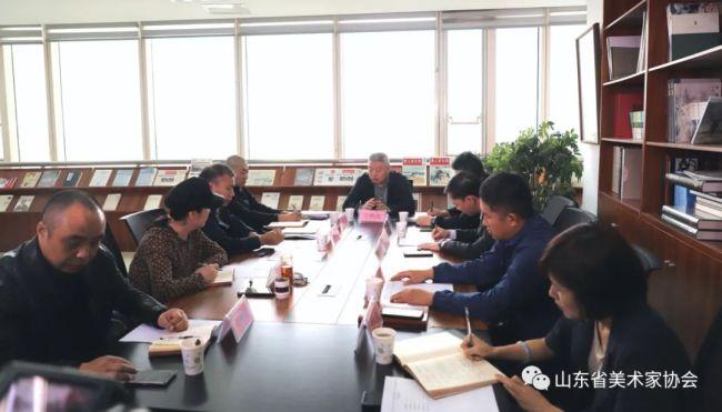 山东省美术家协会用丹青妙笔绘就齐鲁华章,献礼建党100周年