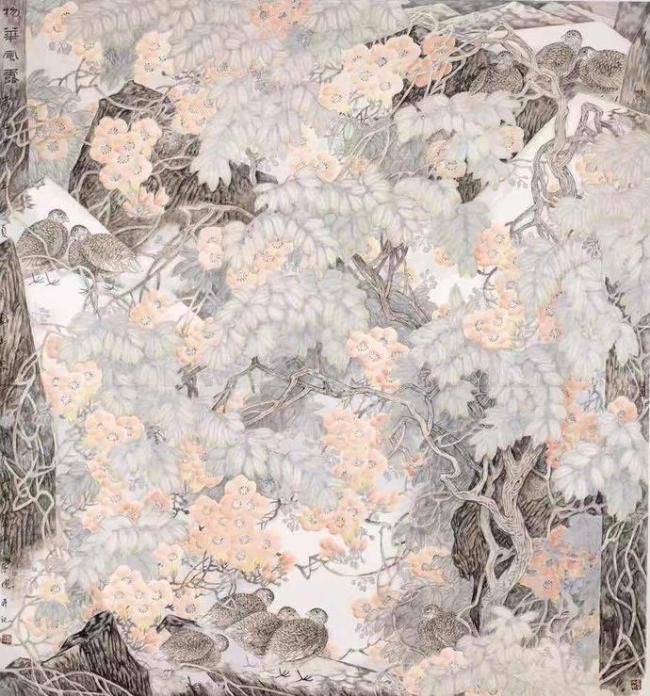 意境奇崛,韵味盎然——著名画家刘玉泉笔墨中的花鸟之趣