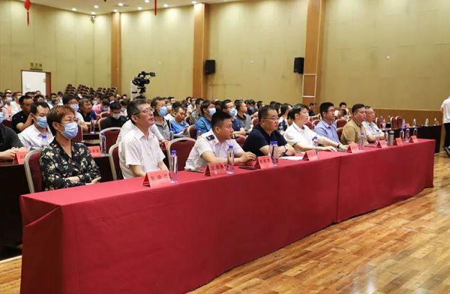 """2021年""""恒信杯""""潍坊奎文区建筑工程安全生产知识竞赛圆满举行"""