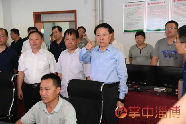 端午假期,淄博市委书记江敦涛督导检查煤矿等场所安全生产工作