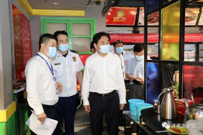 王宏志检查督导济南高新区燃气安全管理工作,强调要确保人民群众生命财产安全