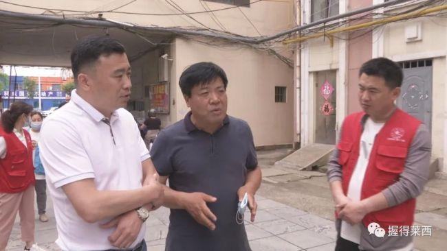 青岛莱西市领导继续分组赴现场督导创城工作
