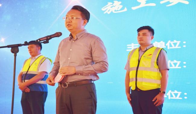 济南市长清区2021年建筑施工安全生产现场观摩会暨建筑施工安全应急救援演练成功举办